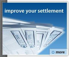 Improve your settlement