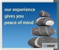 Our experience gives you peace of mind
